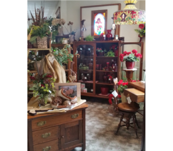 Beautiful Antique Furniture in Grand Rapids MN, Shaw Florists