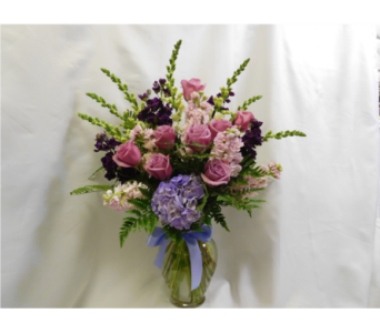 Purple & Pink  in Henderson NV, Beautiful Bouquet Florist