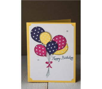 Happy Birthday - Pink,Yellow, Purple in Granite Bay & Roseville CA, Enchanted Florist