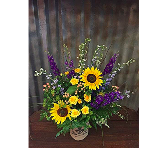 Fell for Purple and Yellow in Boise ID, Hillcrest Floral