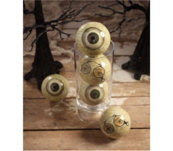 BETHANY LOWE LAQUER HALLOWEEN EYE BALLS in Bellevue WA, CITY FLOWERS, INC.