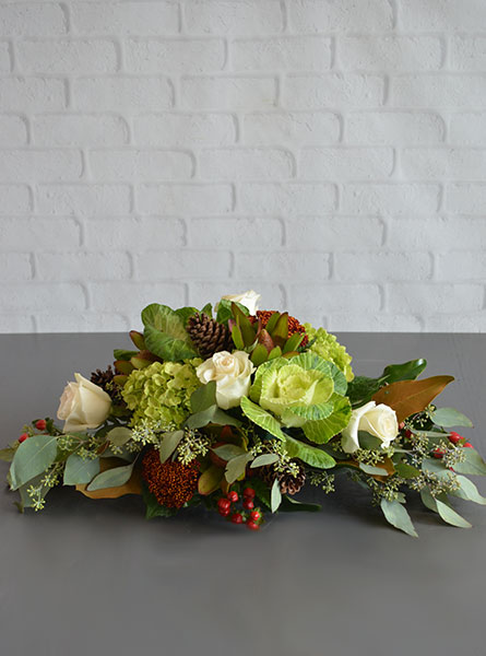 Free Falling Centerpiece in Raleigh NC, Bedford Blooms & Gifts