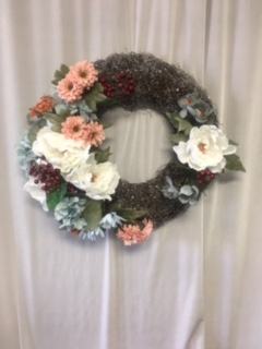 Vintage Sparkle Wreath in Elyria OH, Botamer Florist & More