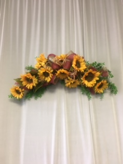 Sunflower Swag in Elyria OH, Botamer Florist & More