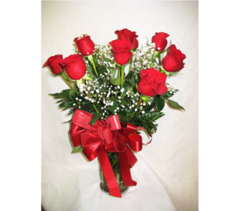 SPECIAL- DOZ RED ROSES & FREE CHOCOLATES in Lake Charles LA, A Daisy A Day Flowers & Gifts, Inc.