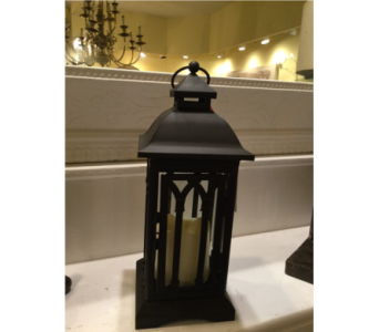 Decorative Burnished Lantern with LED Candle in Owensboro KY, Welborn's Floral Company