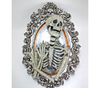 KATHERINE'S COLLECTION SKELETON MIRROR in Bellevue WA, CITY FLOWERS, INC.