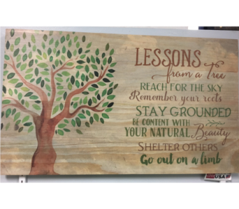 P Graham Dunn Lessons from a tree.. in Port St Lucie FL, Flowers By Susan