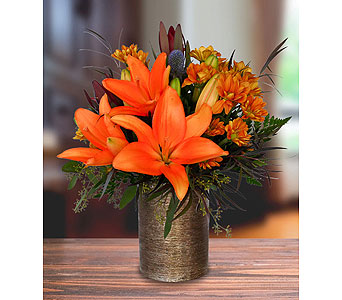 Pop of Orange in Dallas TX, In Bloom Flowers, Gifts and More