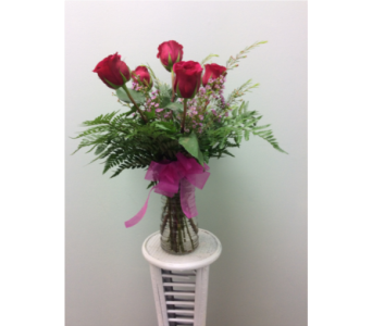 Andover Floral's Hot Pink Six in Andover MN, Andover Floral