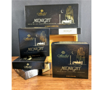 Midnight Assorted Dark Chocolates in Greeley CO, Mariposa Plants & Flowers