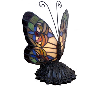 Memory Lamp - The Butterfly Lamp in Fort Worth TX, TCU Florist