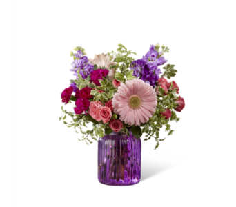 FTD-G11 Purple Prose Bouquet  in Chicago IL, La Salle Flowers