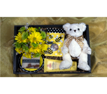 Baby Bee Crate in Reno NV, Bumblebee Blooms Flower Boutique