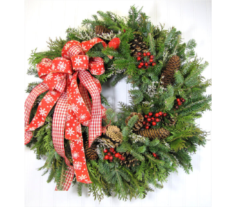 Fresh Wreath Workshop in Casper WY, Keefe's Flowers