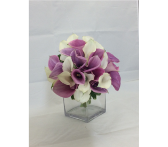 Mini Calla Bouquet in Manhasset NY, Town & Country Flowers