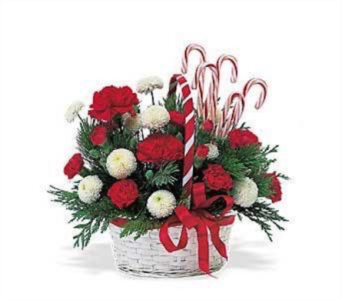 Christmas Basket Class in Spruce Grove AB, Flower Fantasy & Gifts
