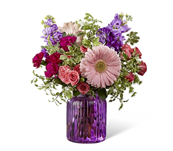 The FTD Purple Prose Bouquet in Haymarket VA, Melanie's Florist