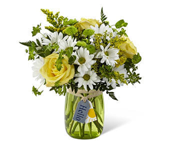 The FTD Hello Sun Bouquet in Haymarket VA, Melanie's Florist