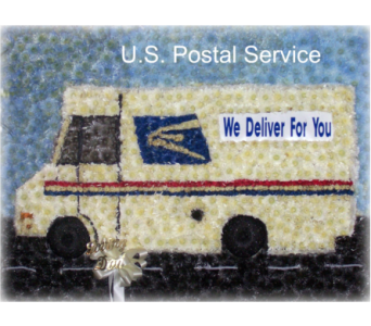 USPS Truck in Staten Island NY, Kitty's and Family Florist Inc.
