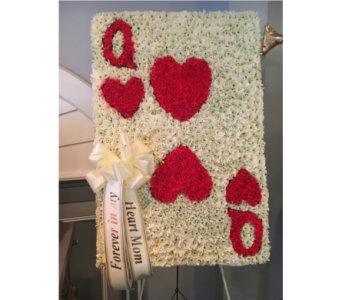 Queen of Hearts  in Staten Island NY, Kitty's and Family Florist Inc.