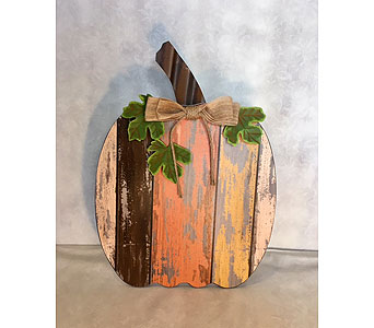 Distressed Pumpkin Medium in Tampa FL, Buds, Blooms & Beyond