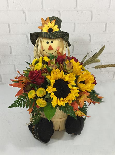 Scarecrow Harvest in Omaha NE, Piccolo's Florist and Gifts