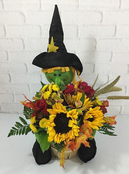 Spook-tacular Stems in Omaha NE, Piccolo's Florist and Gifts