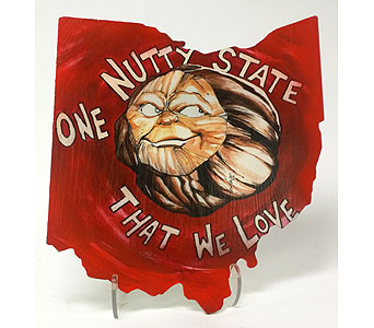 Nutty State Plaque in Perrysburg & Toledo OH  OH, Ken's Flower Shops