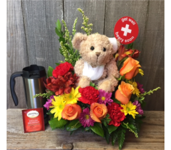Get Well with Tea in Portland OR, Portland Florist Shop