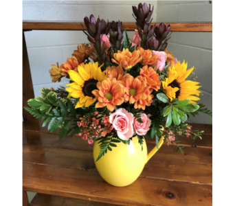 Fall Pitcher in Morehead City NC, Sandy's Flower Shoppe