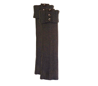Slate Ribbed Tall Boot Cuff Acrylic in Indianapolis IN, Steve's Flowers and Gifts