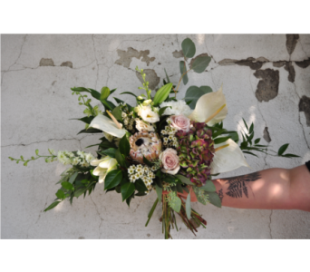 Modern Bouquet in Cranbrook BC, M J's Floral Boutique