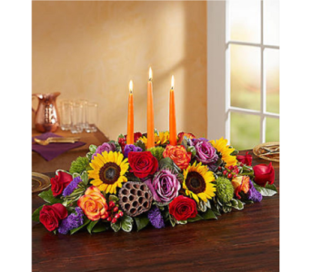 Garden of Grandeur for Fall Centerpiece in Huntington WV, Archer's Flowers and Gallery
