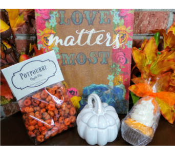 Fall Happy in Jonesboro AR, Posey Peddler