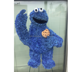Cookie Monster in Jersey City NJ, Entenmann's Florist