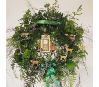 FOREST WREATH  in Yonkers NY, Beautiful Blooms Florist