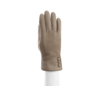 Tan Microsuede Cuffed Glove Polyester in Indianapolis IN, Steve's Flowers and Gifts