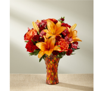 Autumn Splendor Bouquet in Noblesville IN, Adrienes Flowers & Gifts