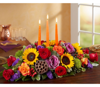 Garden of Grandeur for Fall Centerpiece in Manchester MD, Main St Florist Of Manchester, LLC