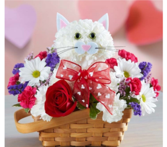 Flirty Feline� in Manchester MD, Main St Florist Of Manchester, LLC