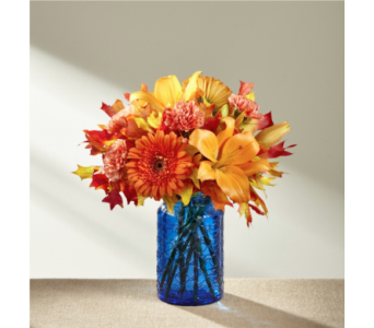 Autumn Wonders Bouquet in Noblesville IN, Adrienes Flowers & Gifts