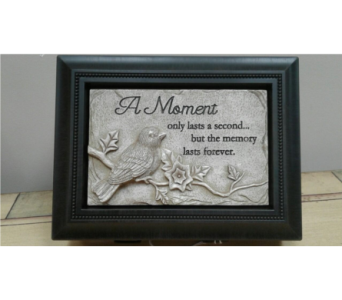 A Moment- music box in Brownsburg IN, Queen Anne's Lace Flowers & Gifts