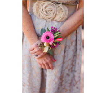 Anemone Wrist Corsage in Neenah WI, Sterling Gardens