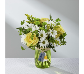 Hello Sun Bouquet in Noblesville IN, Adrienes Flowers & Gifts