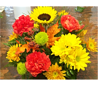 SIMPLY FALL in Claremont NH, Colonial Florist