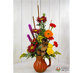Harvest Pitcher in Pendleton IN, The Flower Cart