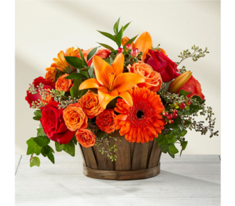 The FTD� Harvest Memories� Basket  in Manchester MD, Main St Florist Of Manchester, LLC
