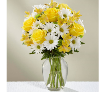 The Sunny Sentiments� Bouquet by FTD�  in Manchester MD, Main St Florist Of Manchester, LLC