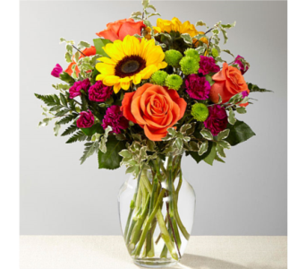 The FTD� Color Craze� Bouquet   in Manchester MD, Main St Florist Of Manchester, LLC
